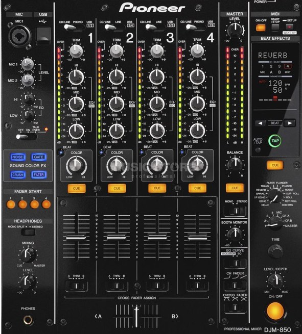Location DJM-850 pioneer